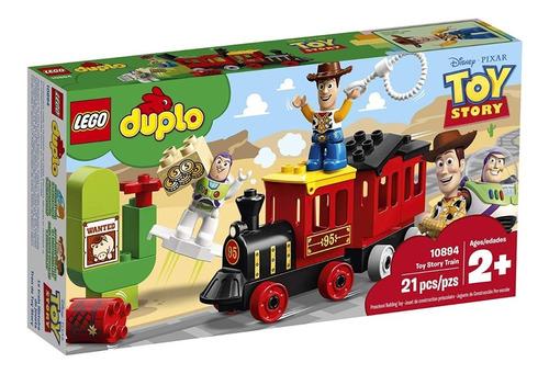 Imagen 1 de 7 de Lego Duplo 10894 Disney Pixar Toy Story Train 21p Juguetes