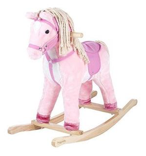 Happy Trails Patty The Pony Ride On Con Pelo De Algodon - Co