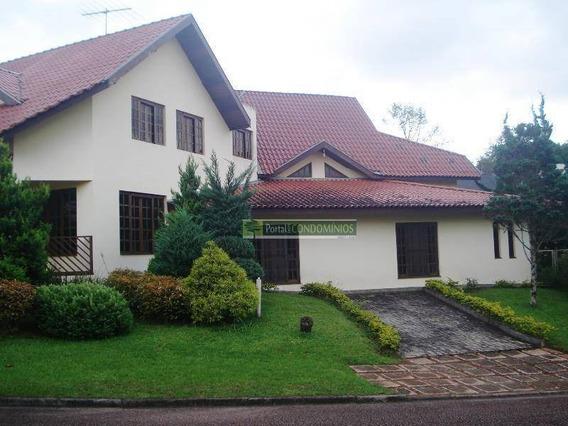 Casa Com 4 Dormitórios À Venda, 530 M² Por R$ 1.815.000,00 - Campo Comprido - Curitiba/pr - Ca0193