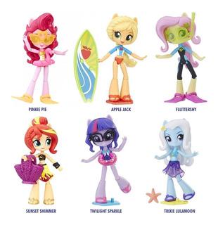 My Little Pony Equestria Girls Pequeño Pony Articulada X 6u.
