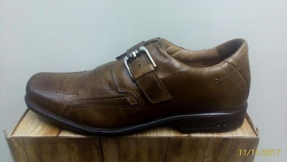 Sapato Social Pegada 20510-2 Tabaco