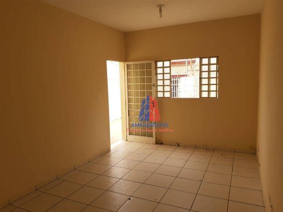 Casa Com 2 Dormitórios Para Alugar, 76 M² Por R$ 950,00/mês - Parque Residencial Jaguari - Americana/sp - Ca1203