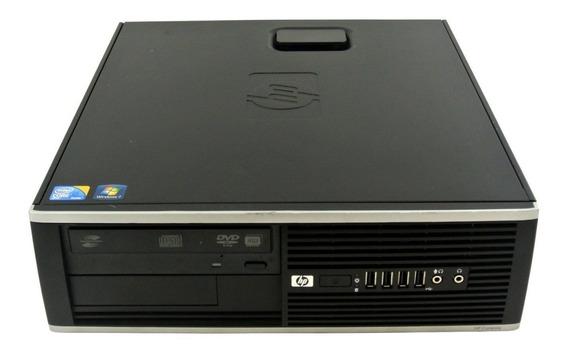 Cpu Hp Compaq Modelo 8100 I5 Sff 4gb Ddr3 - Hd 500 Gb