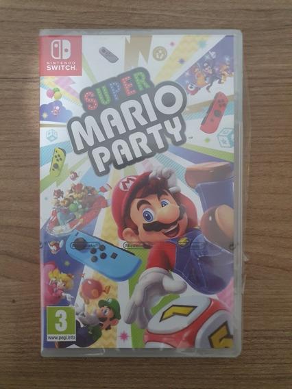 Super Mário Party Nintendo Switch Novo (leia)