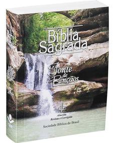 Bíblia Sagrada Pequena / Para Evangelizar - Capa Paisagem