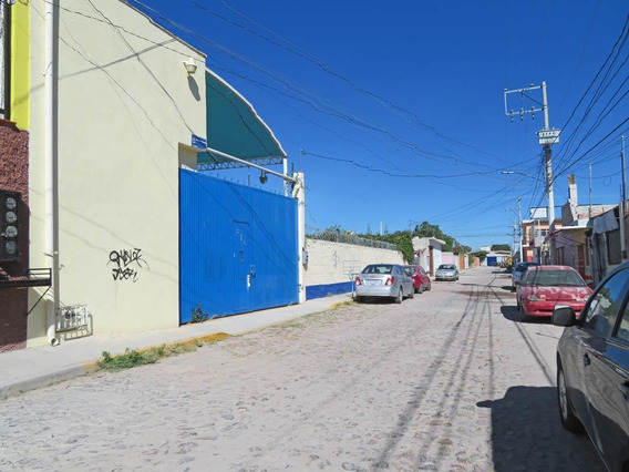 Terreno En Venta Con Bodega En Qro. Colonia Rosendo Salazar