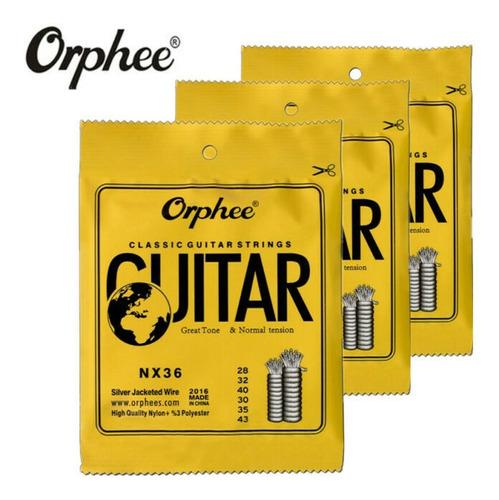 Cuerdas Para Guitarra Acústica Clásica Española