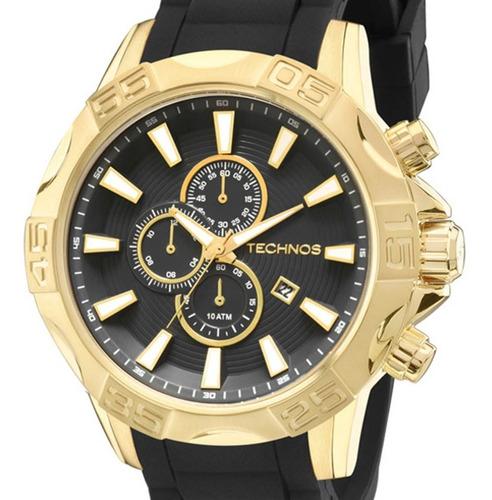 Relógio Technos Masculino Classic Legacy Os10ew/8p Dourado + Nfe
