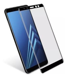 Pelicula De Vidro 3d Samsung Galaxy A8 Plus 2018 - 6 Pol