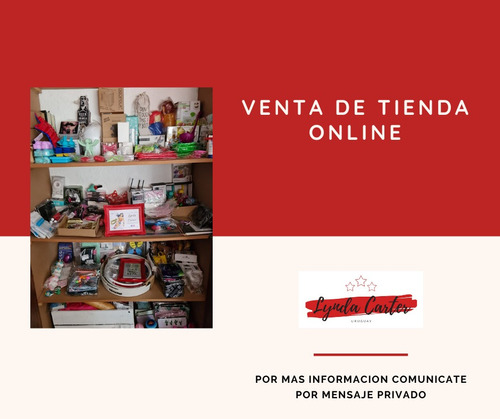 Traspaso Tienda Online Con Mas De 438 Artículos En Stock .