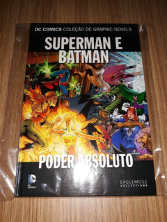 Hq Superman-batman: Poder Absoluto (seminovo) - Eaglemoss