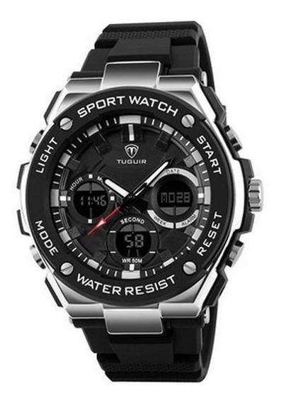 Relógio Masculino Tuguir Tg1187 Promoção Pronta Entrega