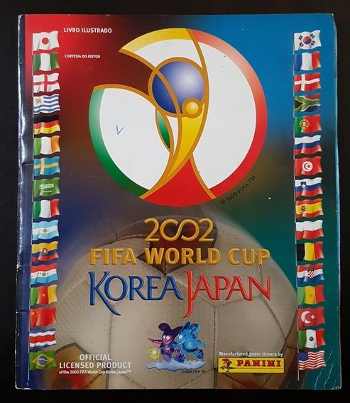 Album De Figurinhas Copa Do Mundo 2002 Panini Completo 1