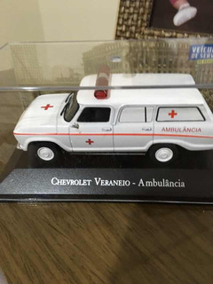 Miniatura Chevrolet Veraneio Ambulância-veículos De Serviço