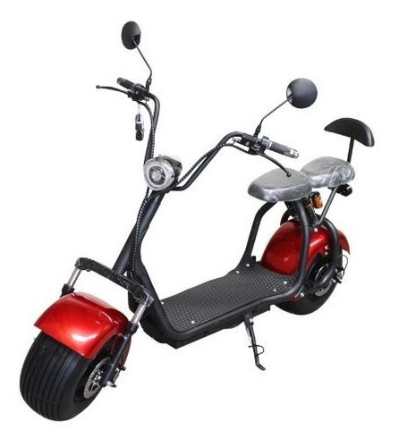 Moto Scooter Eléctrica 1500 W Pie Doble Bluetooth Alarma