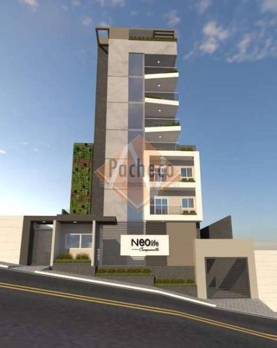 Imagem 1 de 26 de Apartamento Na Campanella,  48 M², 02 Dormitórios, 01 Vaga, R$ 207.000,00 - 2486
