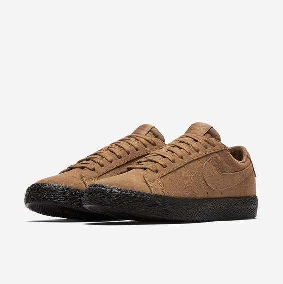 Tenis Nike Sb Zoom Blazer Low Marrom