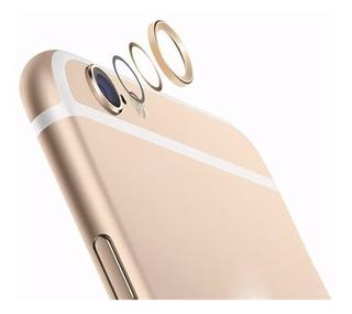 Anel Aro Protetor Lente Câmera Anti Shock iPhone 6 Dourado