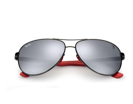Ray-ban Rb8313 Aviador Ferrari Masculino Original Polarizado