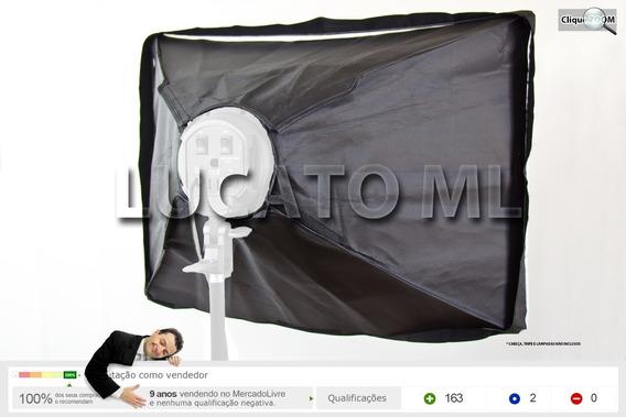 Softbox Cinquenta Por Setenta Haze +4 V. + Difusor + Capa Np