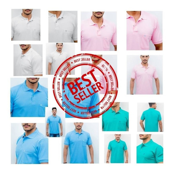 Camisas Polos Sports Kit C/2 // Camisas Originais Polo Play