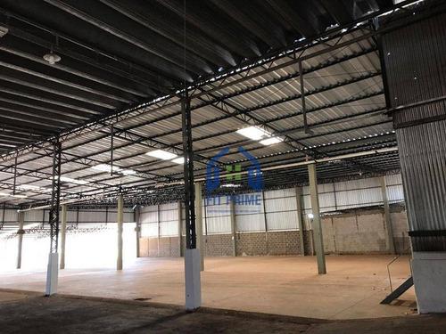 Barracão, 2300 M² - Venda Por R$ 6.800.000,00 Ou Aluguel Por R$ 20.000,00/mês - Estância Jockey Clube - São José Do Rio Preto/sp - Ba0076