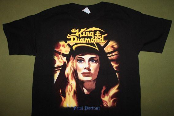 Gusanobass Playera Metal Rock King Diamond Fatal Portrait