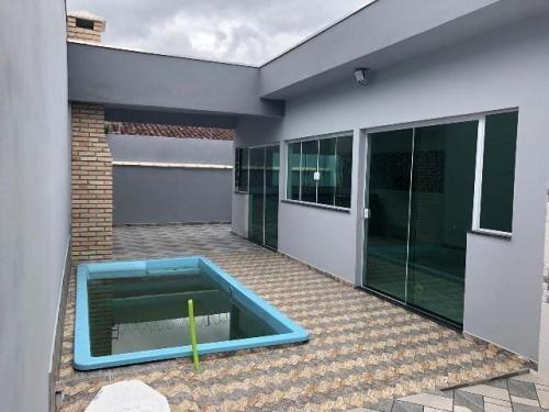 Linda Casa No Balneário Gaivota, Em Itanhaém,ref. 5081 M H