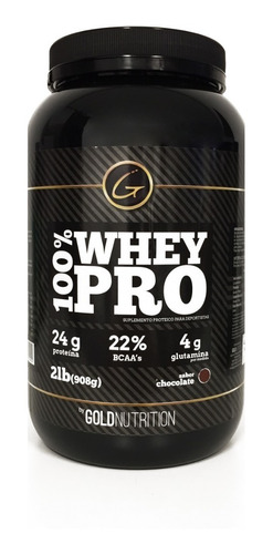 Proteína - 100% Whey Pro 2lb - Gold Nutrition