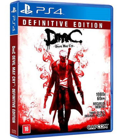 Jogo Dmc Devil May Cry Definitive Edition Ps4 Usado