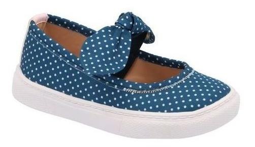 Zapato Flats Niña Azul Marino M635819