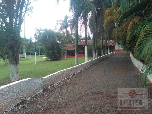 Chácara Bem Localizada Em Tatuí A 600 Metros Da Castelo Branco - Ch0635