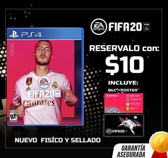 Fifa 20 Ps4 Juego Físico - Sellado + Póster Reserva Ya !