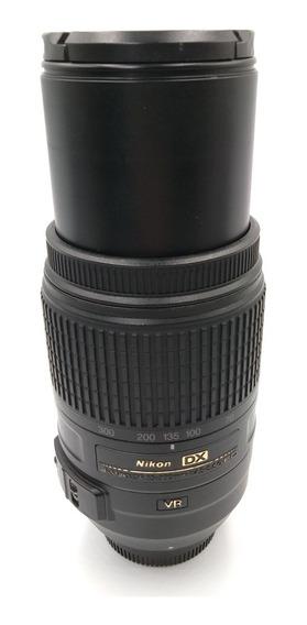 Lente Objetiva Nikon 55-300mm F 4.5 5.6 Vr Ed