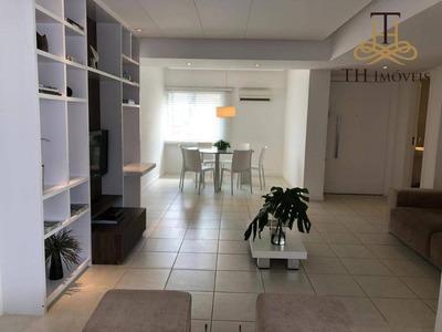 Locação Anual De Apartamento Mobiliado, No Centro De Balneário Camboriú, Com 2 Suítes, 2 Vagas De Garagem Privativas - R$4.564,00 Mensal - Ap0556