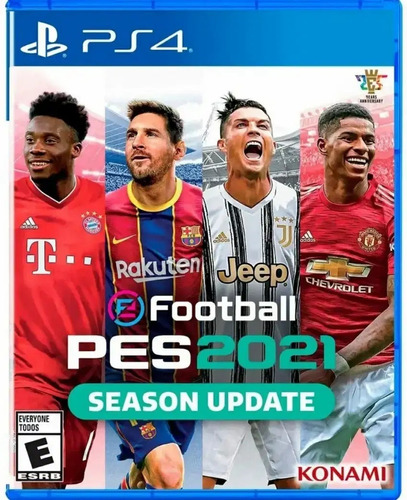 Pes 2021 E Football Season Update Ps4 Fisico Ade Ramos