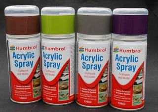 Tintas E Primer Spray Humbrol P Policarbonato E Poliestireno