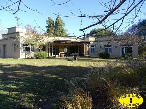 2120ml-excelente Casa En Chacras De Murray 2210m2 Pilar