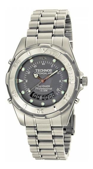 Relógio De Pulso Technos Skydiver Referência T20557/6c