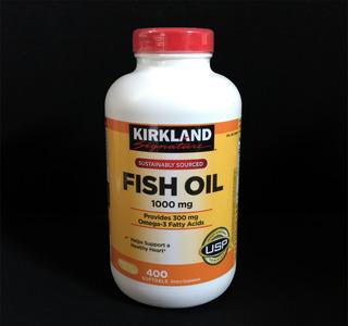 Ômega 3 Óleo De Peixe 1000mg - Kirkland - 400 Cápsulas