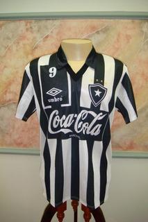 Camisa Futebol Botafogo Rio Janeiro Umbro Jogo Antiga 184