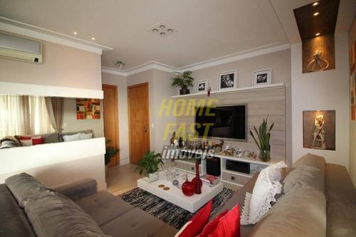 Imagem 1 de 9 de Apartamento Com 3 Dormitórios À Venda, 127 M² Por R$ 1.000.000 - Centro - Guarulhos/sp - Ap2326