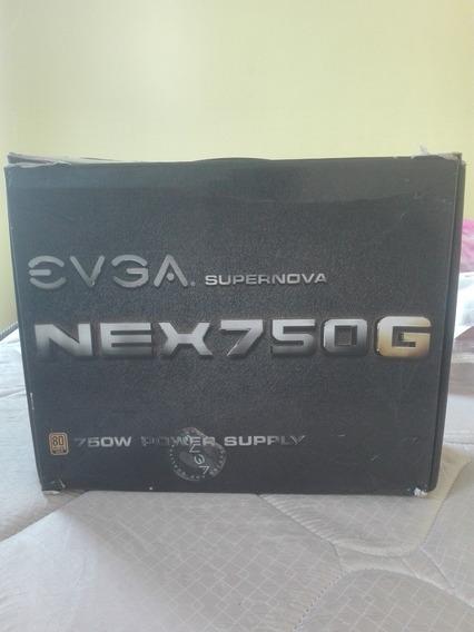 Fonte Evga 750w 80 Plus Gold Modular