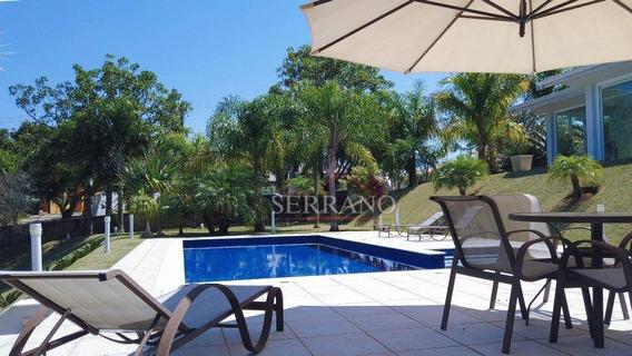 Casa Com 4 Dormitórios À Venda, 556 M² Por R$ 2.800.000,00 - Condomínio Jardim Primavera - Louveira/sp - Ca0462