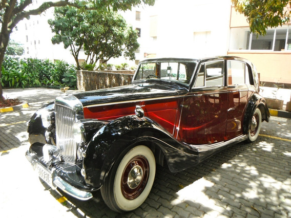 Bentley Mk Vi Freestone & Webb 100% Original