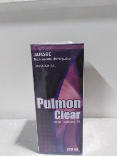 Pulmon Clear X 240ml Coadyuvante En Problemas Respiratorios