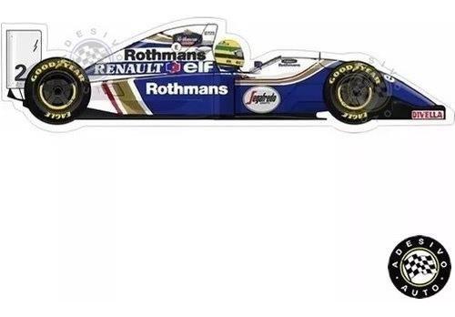 Adesivo Ayrton Senna Williams Fw16 1994 F1 Formula 1 Carros