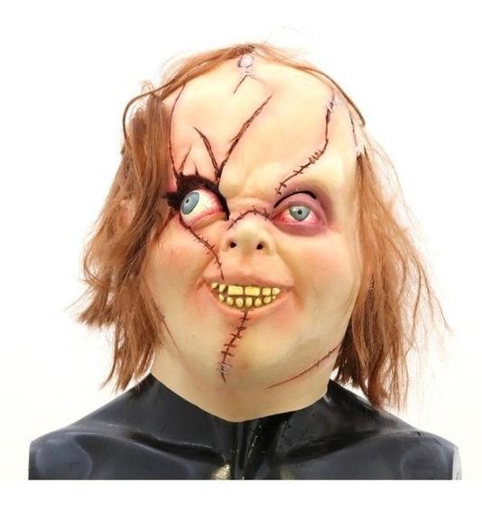 Mascara Deluxe Licencia Muñeco Chucky Latex