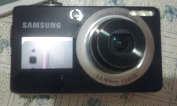 Câmera Digital Samsung Pl100 Lcd 12,2mp Com Display Frontal