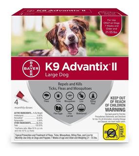 Bayer K9 Advantix Ii Flea, Tick And Mosquito Preventionxr